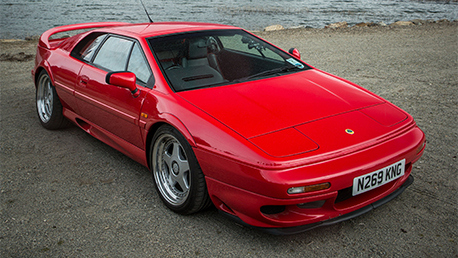 Lotus Esprit V8 (© Top Gear)