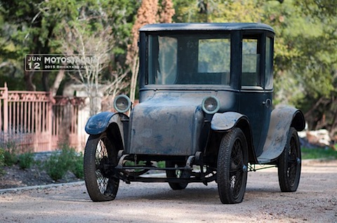 Milburn Electric Model 27L Brougham 1923