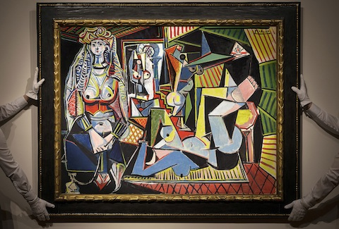 Pablo Picassos Werk Les Femmes d'Alger (© Courtesy of Christie's Images Ltd. 2015)