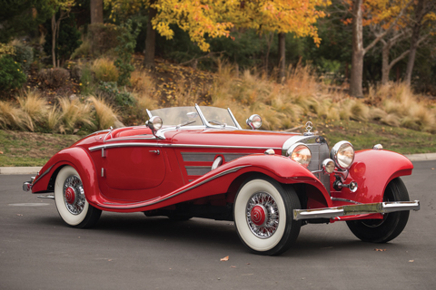 Mercedes-Benz 540 K Special Roadster 1937 (© RM/Sotheby's)