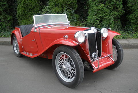 MG TC - copyright Bonhams