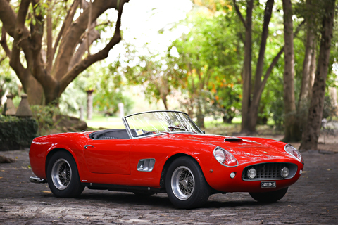 Ferrari 250 GT SWB California Spider von 1961 (© Gooding & Co)