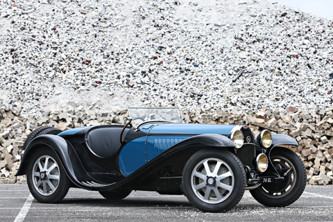 Bugatti Type 55 Roadster von 1932 (© Gooding & Co)