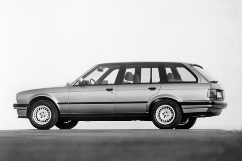 BMW 325iX Touring 1987 (© BMW AG)