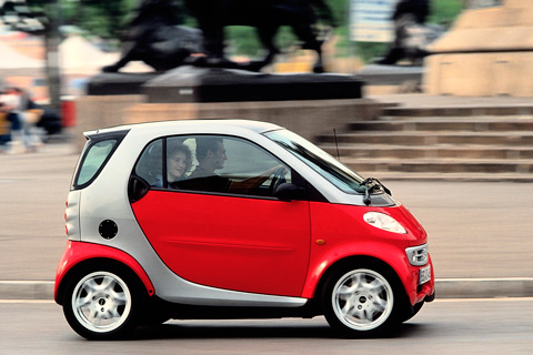 Smart ForTwo Coupé 1998 (© Daimler AG)
