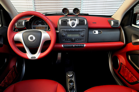Smart Interieur (© Daimler AG)