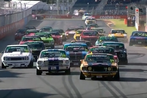 Start zu den Touring Car Masters in Adelaide 2017