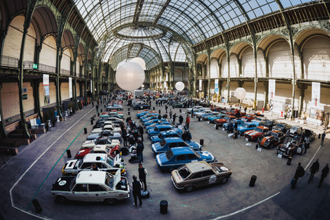 Tour Auto 2017 im Grand Palais in Paris (© Antoine Dellenbach)