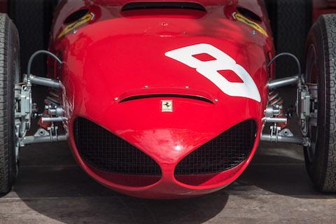 Ferrari 156 F1 an den Classic Days Schloss Dyck (© Daniel Reinhard)