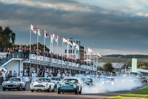 Aston Martin DB4 GT in Goodwood (© Jason Fong - Courtesy Goodwood Revival)