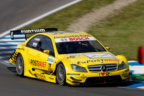 DTM-Mercedes Deutsche Post