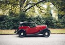 Morris Eight (1938): Morris 8 4-seater Roadster - angeboten durch Claus Mirbach Hamburg