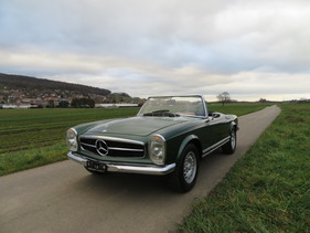 mercedes benz 230 sl pagode 1964 oldtimer kaufen. Black Bedroom Furniture Sets. Home Design Ideas