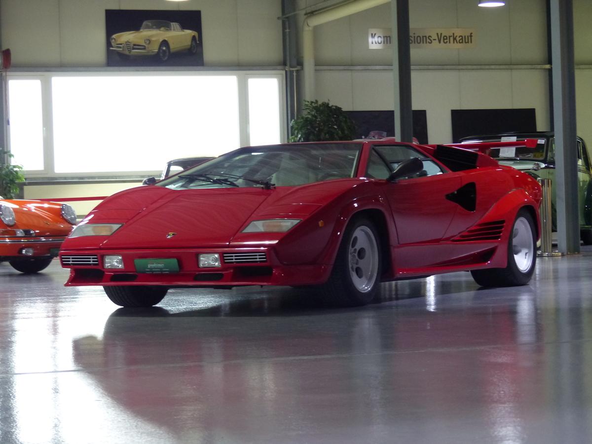 Lamborghini Countach 5000s Qv 1986 Oldtimer Kaufen Zwischengas
