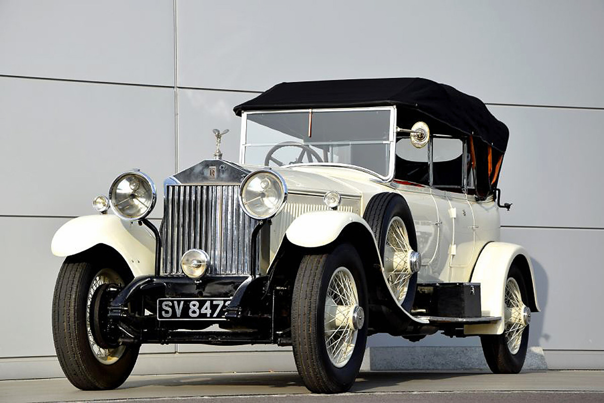 rolls royce phantom i sports tourer 1925 oldtimer. Black Bedroom Furniture Sets. Home Design Ideas