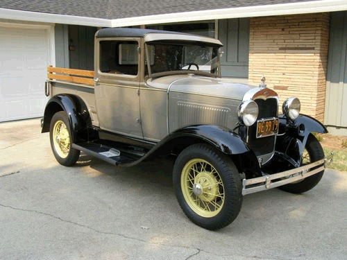ford model a pickup 1931 oldtimer kaufen zwischengas. Black Bedroom Furniture Sets. Home Design Ideas