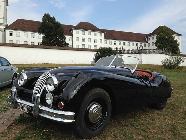 jaguar xk 140 ots 1955 oldtimer kaufen zwischengas. Black Bedroom Furniture Sets. Home Design Ideas