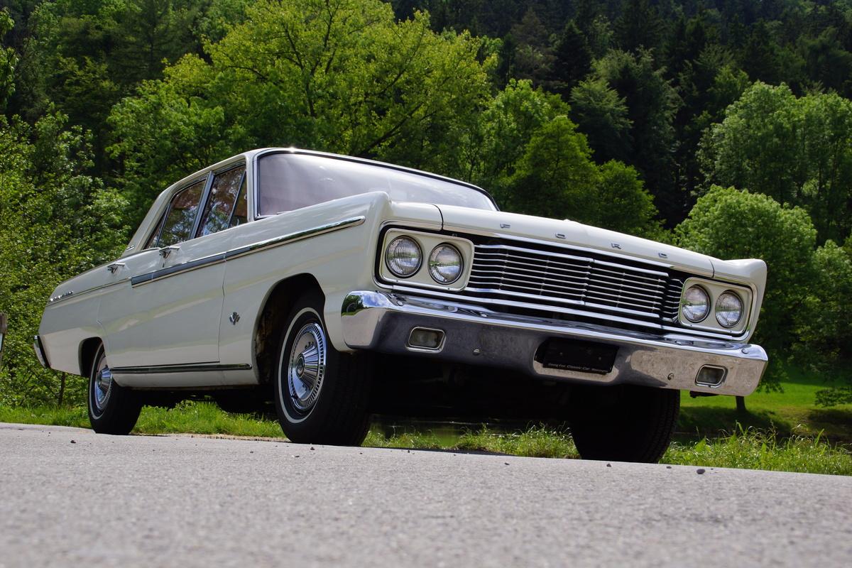 Bild 1 7 Vom Fahrzeug Verkaufsinserat Ford Fairlane 500 1965 V