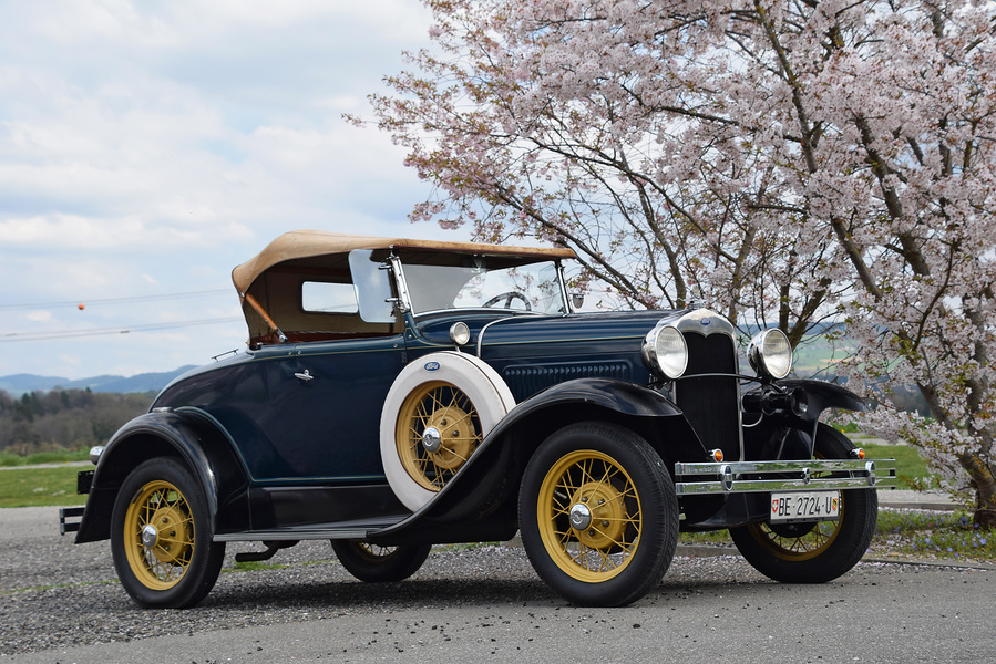 ford a deluxe roadster 1930 oldtimer kaufen zwischengas. Black Bedroom Furniture Sets. Home Design Ideas