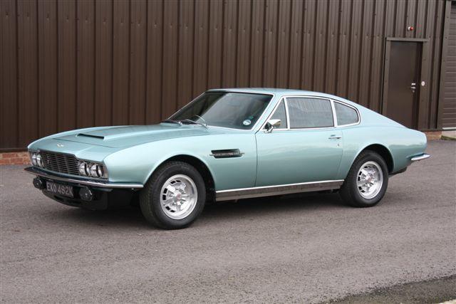 Aston Martin Dbs V8 1972 Oldtimer Kaufen Zwischengas