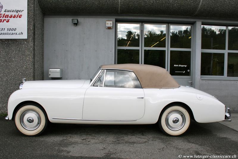 bentley r type graber cabriolet 1952 oldtimer kaufen. Black Bedroom Furniture Sets. Home Design Ideas