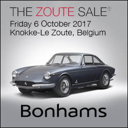 Bonhams Zoute Sale 2017 2nd Wave: Bonhams Zoute Sale 2017